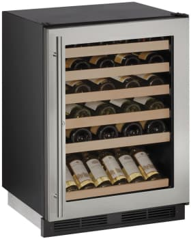 U Line Wine Captain 1000 Series U1224WCS13A - Stainless Steel