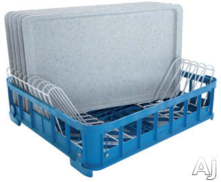 Miele U3132 - Plastic basket with pre-fitted skids -Insert for 10 trays sized 20½