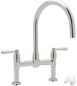 Rohl Perrin and Rowe Contemporary Collection U4293LSSTN2 - Polished Chrome