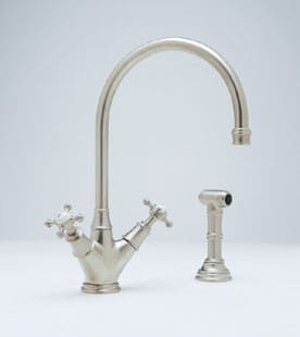 Rohl Perrin and Rowe Traditional Collection U4707XIB - Satin Nickel