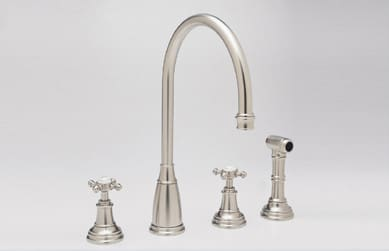 Rohl Perrin and Rowe Traditional Collection U4735XAPC2 - Satin Nickel