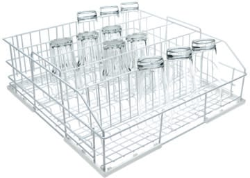 Miele U5251 - Glassware Basket with 5 rows for glasses with 3¼  diameter