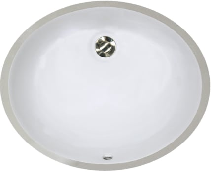 Nantucket Sinks Great Point Collection UM15X12W - Top View