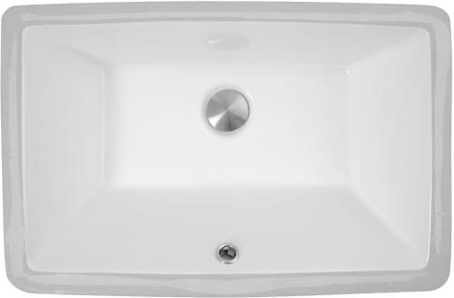 Nantucket Sinks Great Point Collection UM19X11W - Top View