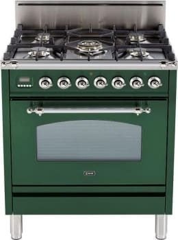 Ilve Nostalgie Collection UPN76DVGGVS - Emerald Green