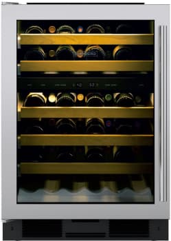 Sub-Zero UW24STHLH - Sub-Zero UW-24 Undercounter Wine Storage with Left Hinge Tubular Handle Door