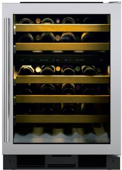 Sub-Zero UW24STHRH - Sub-Zero UW-24 Undercounter Wine Storage with Right Hinge Tubular Handle Door
