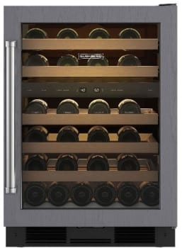 Sub-Zero UW24ORH - Sub-Zero UW-24 Undercounter Wine Storage, Right Hinge Door Swing (ready for a custom door panel)