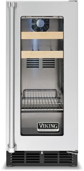 Viking Professional 5 Series VBCI5150GRSS - Right Hinge Front View