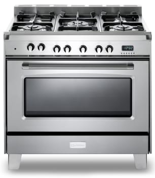 65ba613fe Verona Classic Series. VCLFSGE365SS. 36 Inch Pro-Style Dual-Fuel Range with 5  Sealed Burners ...