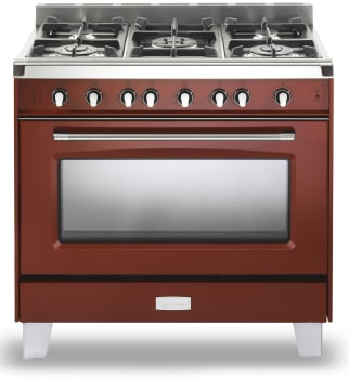 Verona Classic Series VCLFSGG365R - Gloss Red Front View