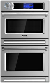 "Viking TurboChef Series VDOT730AR - 30"" Double Electric Wall Oven (available in Apple Red!)"