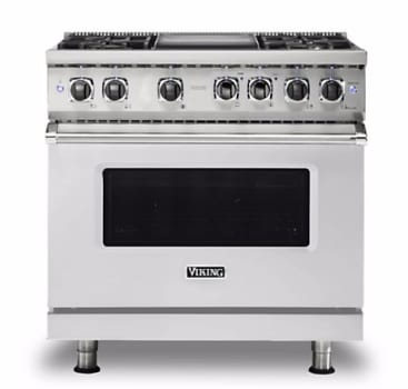 Viking Professional 5 Series VDR5364GSSLP - Stainless Steel Front View