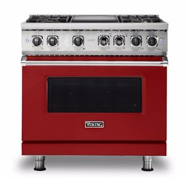 Viking Professional 5 Series VDR5364GARLP - Apple Red