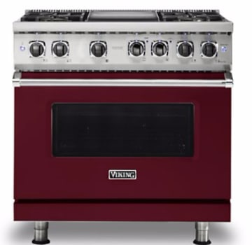 Viking Professional 5 Series VDR5364GBU - Burgundy