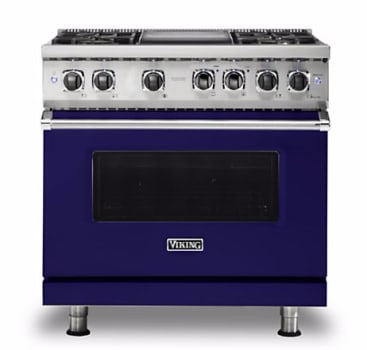 Viking Professional 5 Series VDR5364GCBLP - Cobalt Blue