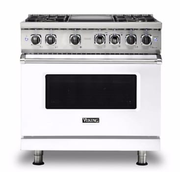 Viking Professional 5 Series VDR5364GWH - White Front View