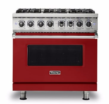 Viking Professional 5 Series VDR5366BARLP - Apple Red