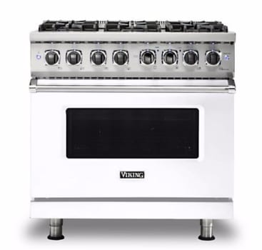 Viking Professional 5 Series VDR5366BWH - White Front View
