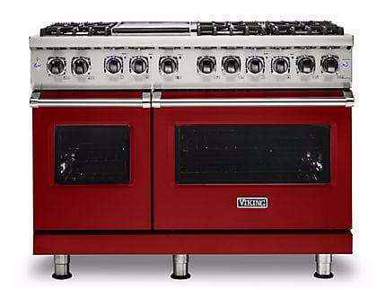 Viking Professional 5 Series VDR5486GAR - Apple Red