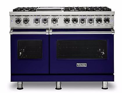 Viking Professional 5 Series VDR5486GCBLP - Cobalt Blue