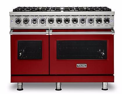 Viking Professional 5 Series VDR5488BARLP - Apple Red