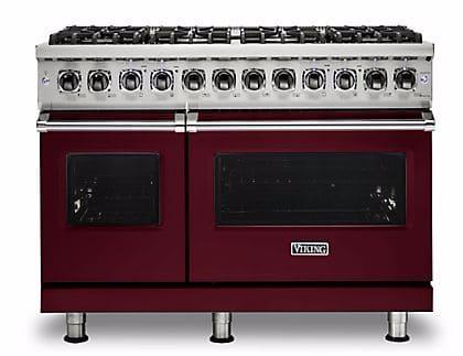 Viking Professional 5 Series VDR5488BBU - Burgundy