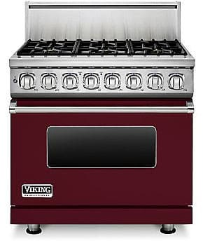 Viking Professional 7 Series VDR7366BBU - Burgundy