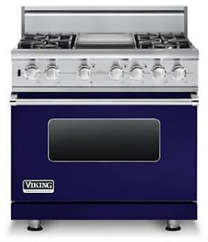 Viking Professional Custom Series VDSC5364GCBLP - Cobalt Blue