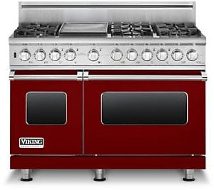 Viking Professional Custom Series VDSC5486GAR - Apple Red