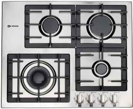 Verona Designer Series VECTGM244SS - VECTGM244SS Stainless Steel Cooktop