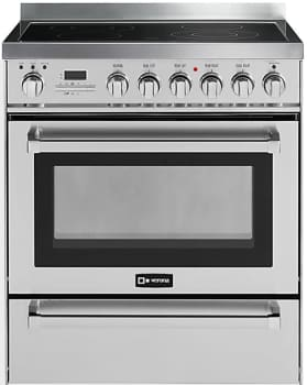 "Verona VEFSEE304PSS - 30"" Self-Cleaning Electric Range"