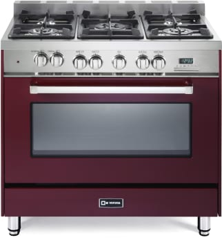 Verona VEFSGE365NBU - Gloss Red Front View