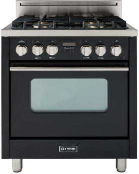 Verona Pro Series VEFSGG31E - High Gloss Black/Stainless
