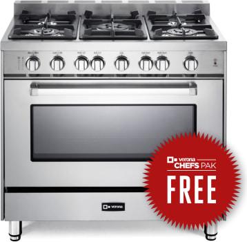 Verona VEFSGG365NSS - Free Chefs Pak