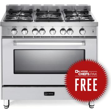 Verona VEFSGG365NW - Free Chefs Pak