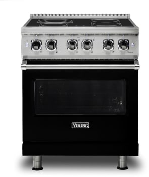 Viking Professional 5 Series VER5304BBK - Black Front View