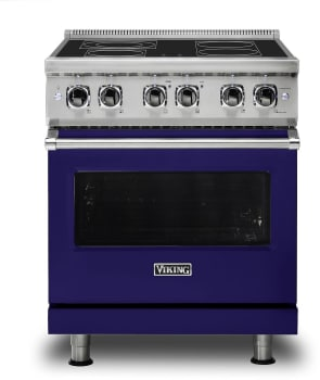 Viking Professional 5 Series VER5304BCB - Cobalt Blue Front View
