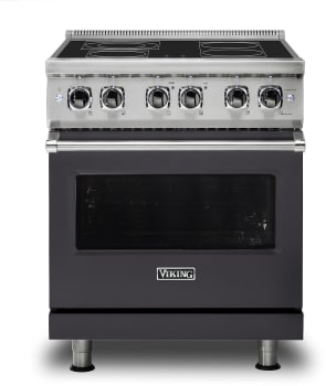 Viking Professional 5 Series VER5304BGG - Graphite Gray Front View