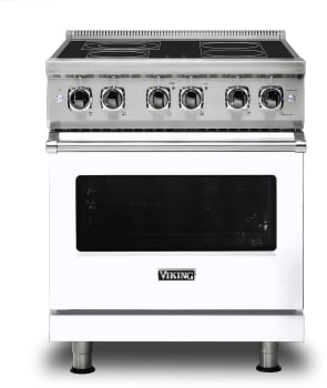Viking Professional 5 Series VER5304BWH - White Front View