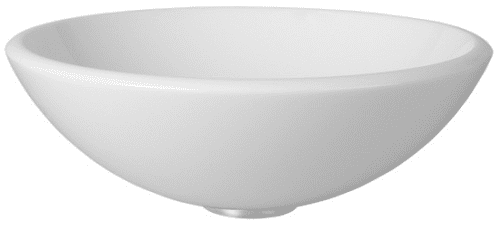 Vigo Industries Vessel Sink Collection VG07039 - White Phoenix Stone Glass Vessel Sink