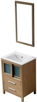 Vigo Industries VG09019105K - White Oak Finish with Mirror