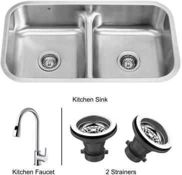 Vigo Industries Premium Collection VG14006 - Undermount Stainless Steel Kitchen Sink