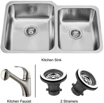 Vigo Industries Premium Collection VG14009 - Undermount Stainless Steel Kitchen Sink