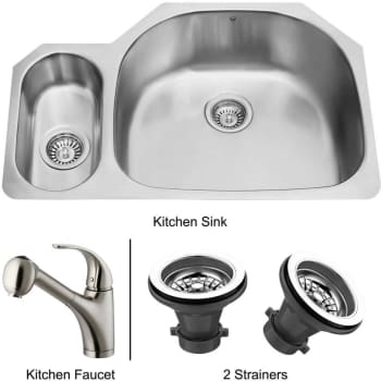 Vigo Industries Premium Collection VG14024 - Undermount Stainless Steel Kitchen Sink