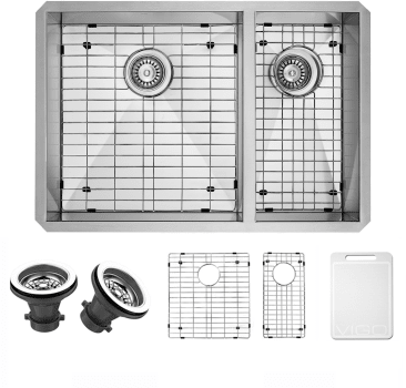 Vigo Industries Kitchen Sink Collection VG2920BLK1 - Items Included