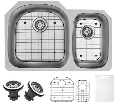 Vigo Industries Kitchen Sink Collection VG3121LK1 - Items Included