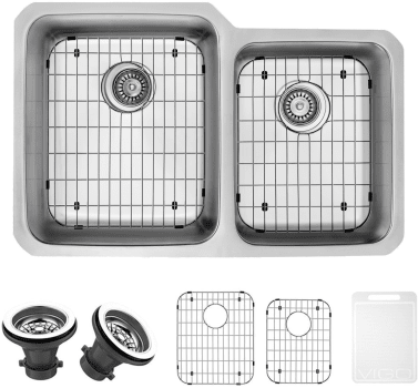 Vigo Industries Kitchen Sink Collection VG3221LK1 - Items Included