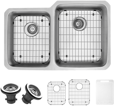Vigo Industries Kitchen Sink Collection VG3221RK1 - Items Included