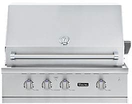 "Viking Professional 5 Series VGBQ53624NSS - 36"" Built-In Grill"
